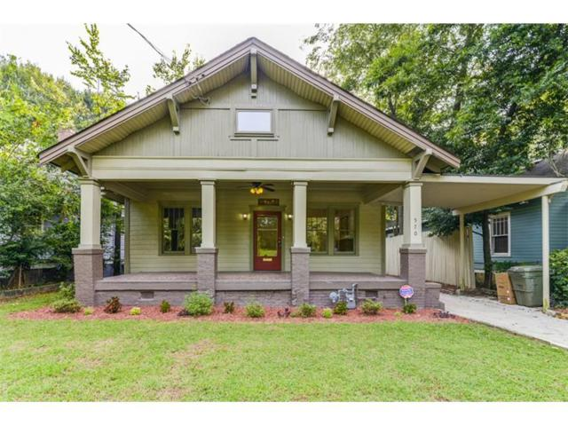 570 Park Avenue SE, Atlanta, GA 30312 (MLS #5901677) :: North Atlanta Home Team