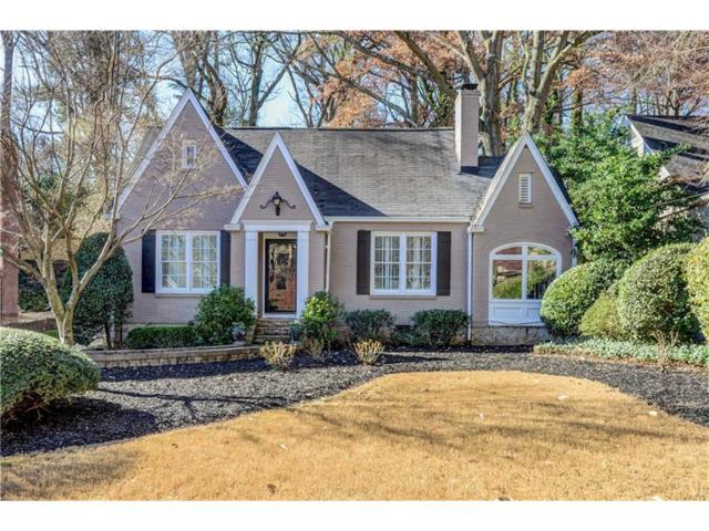 1197 Beech Valley Road NE, Atlanta, GA 30306 (MLS #5903556) :: The Zac Team @ RE/MAX Metro Atlanta