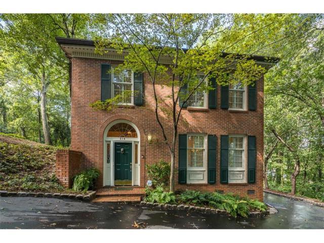 214 Townsend Place NW #214, Atlanta, GA 30327 (MLS #5905026) :: North Atlanta Home Team