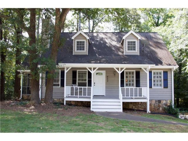 503 Oconee Court, Woodstock, GA 30188 (MLS #5906113) :: North Atlanta Home Team