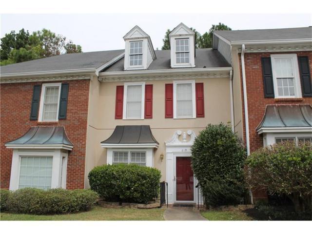 610 Brantley Road #610, Sandy Springs, GA 30350 (MLS #5906140) :: North Atlanta Home Team