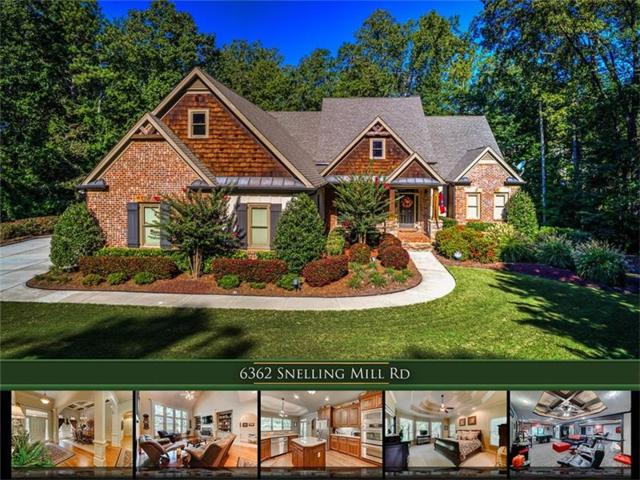 6362 Snelling Mill Road, Flowery Branch, GA 30542 (MLS #5906936) :: North Atlanta Home Team
