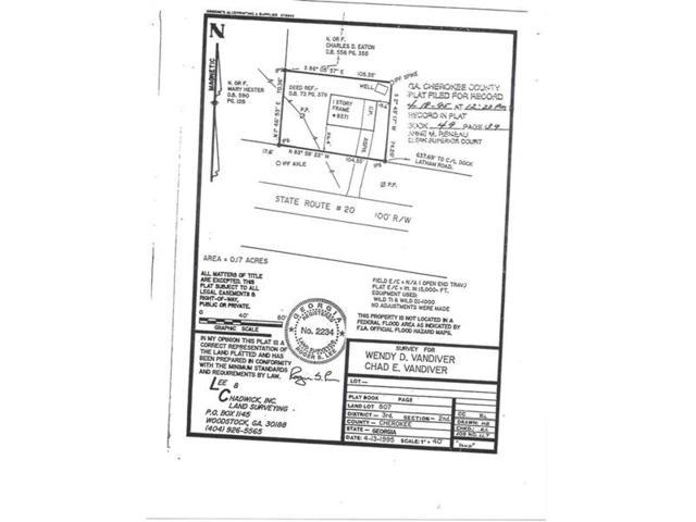 8371 Cumming Highway, Canton, GA 30115 (MLS #5907857) :: Path & Post Real Estate