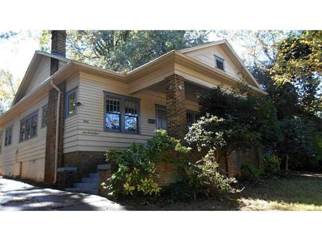 993 North Avenue NE, Atlanta, GA 30306 (MLS #5908677) :: Carr Real Estate Experts