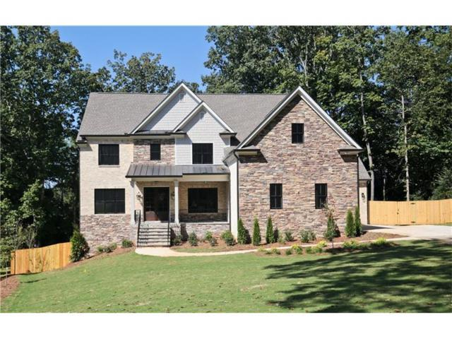 5368 Harris Circle, Dunwoody, GA 30338 (MLS #5909988) :: Buy Sell Live Atlanta