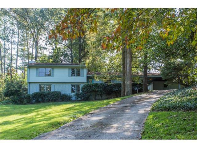 4181 Oak Forest Drive NE, Brookhaven, GA 30319 (MLS #5910586) :: Charlie Ballard Real Estate