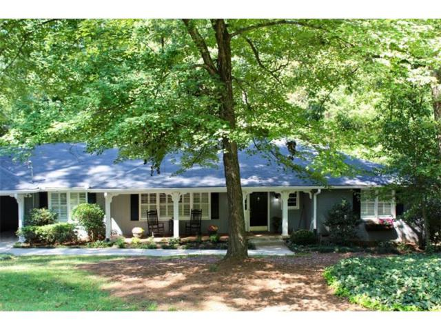 6910 Castleton Drive, Sandy Springs, GA 30328 (MLS #5911074) :: Buy Sell Live Atlanta