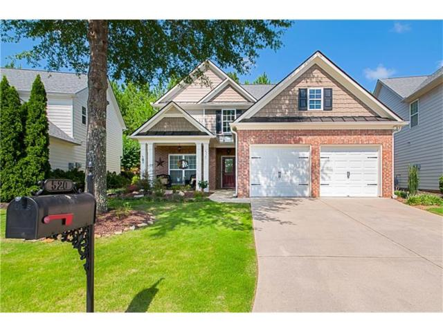 520 Mountain Crossing, Woodstock, GA 30188 (MLS #5911440) :: Charlie Ballard Real Estate
