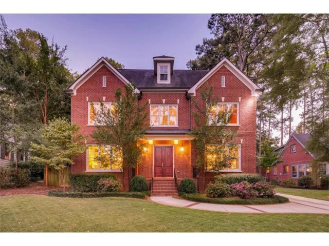 1723 Johnson Road NE, Atlanta, GA 30306 (MLS #5912370) :: North Atlanta Home Team