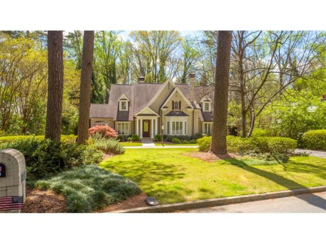 4124 Club Drive, Atlanta, GA 30319 (MLS #5912556) :: North Atlanta Home Team