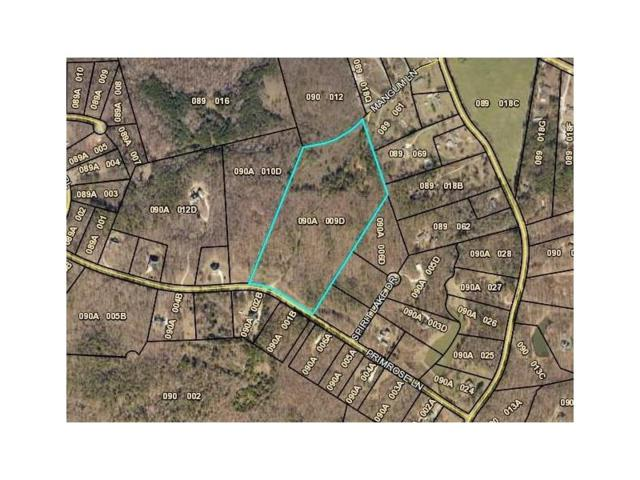 Lot 9 Primrose Lane, Pendergrass, GA 30567 (MLS #5912840) :: North Atlanta Home Team
