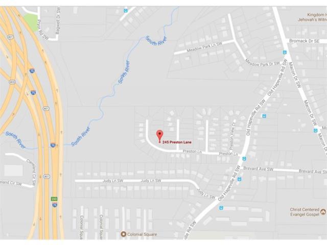 245 Preston Lane SW, Atlanta, GA 30315 (MLS #5914066) :: Carr Real Estate Experts