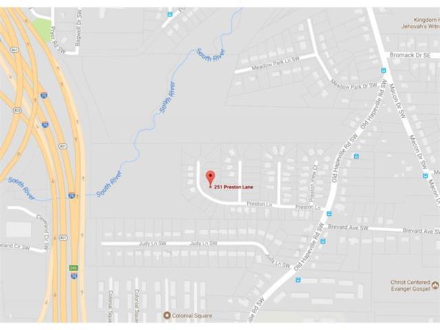 251 Preston Lane SW, Atlanta, GA 30315 (MLS #5914069) :: Carr Real Estate Experts