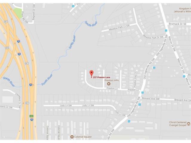 257 Preston Lane SW, Atlanta, GA 30315 (MLS #5914071) :: Carr Real Estate Experts