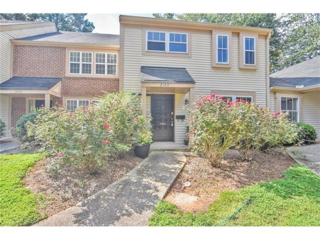 2103 Simsbury Lane #2103, Dunwoody, GA 30338 (MLS #5917441) :: North Atlanta Home Team