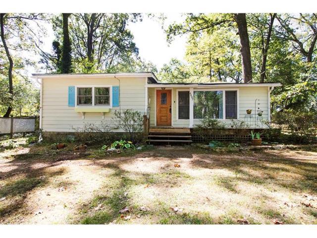 4607 Ridge Drive, Pine Lake, GA 30072 (MLS #5917926) :: North Atlanta Home Team
