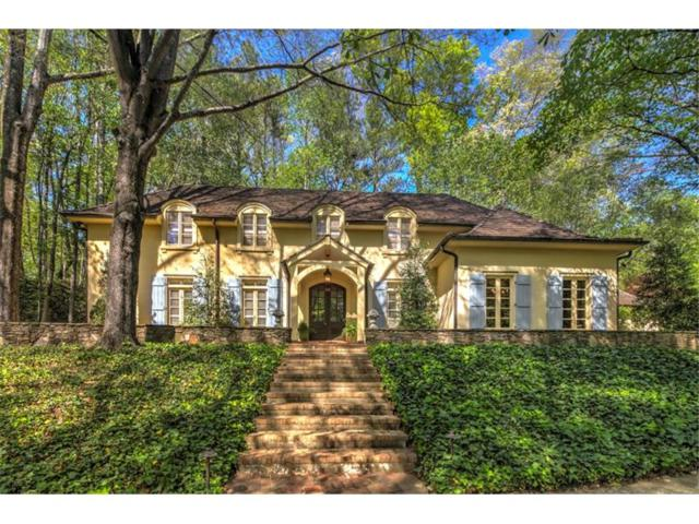 4105 Whitewater Creek Road NW, Atlanta, GA 30327 (MLS #5918678) :: The Hinsons - Mike Hinson & Harriet Hinson