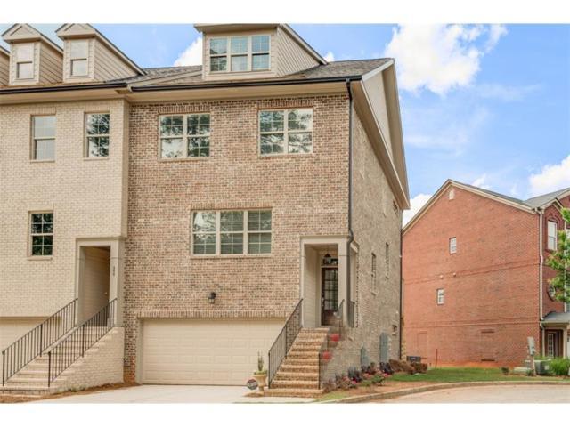 307 Benson Manor Circle #18, Smyrna, GA 30082 (MLS #5919065) :: North Atlanta Home Team