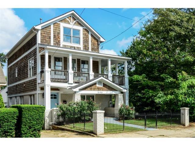 546 Highland Avenue NE, Atlanta, GA 30312 (MLS #5919811) :: North Atlanta Home Team