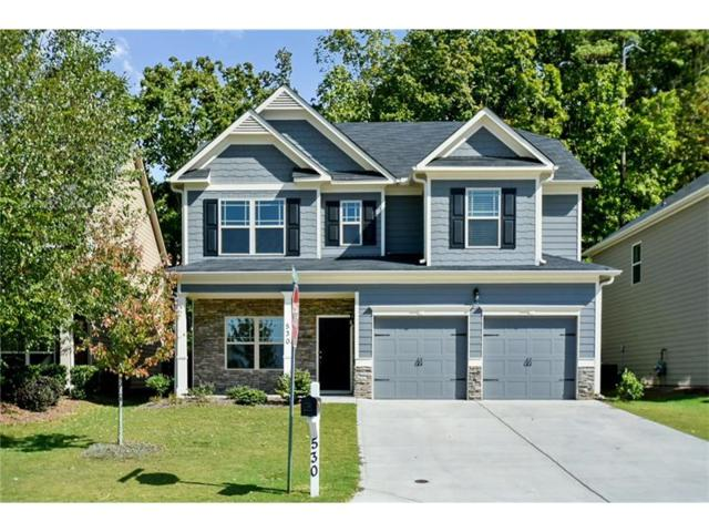 530 Crestmont Lane, Canton, GA 30114 (MLS #5920540) :: Path & Post Real Estate