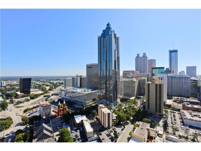 400 W Peachtree Street NW #3409, Atlanta, GA 30308 (MLS #5920734) :: North Atlanta Home Team