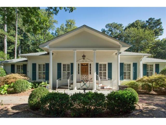 215 Forrest Lake Drive, Sandy Springs, GA 30327 (MLS #5920910) :: North Atlanta Home Team