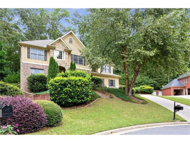 1466 Hickory Branch Trail NW, Kennesaw, GA 30152 (MLS #5921147) :: North Atlanta Home Team