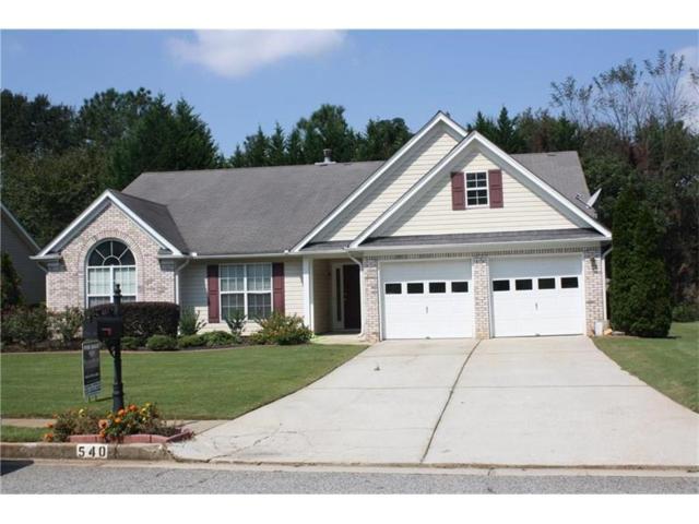 540 Sterling Hill Drive, Lawrenceville, GA 30046 (MLS #5921338) :: North Atlanta Home Team