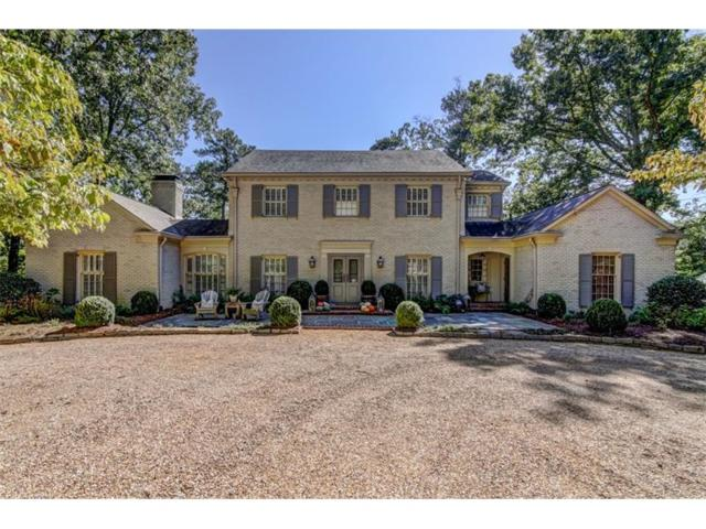 3489 Ridgewood Road NW, Atlanta, GA 30327 (MLS #5921358) :: The Hinsons - Mike Hinson & Harriet Hinson