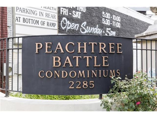 2285 Peachtree Road NE #810, Atlanta, GA 30309 (MLS #5922524) :: The Zac Team @ RE/MAX Metro Atlanta