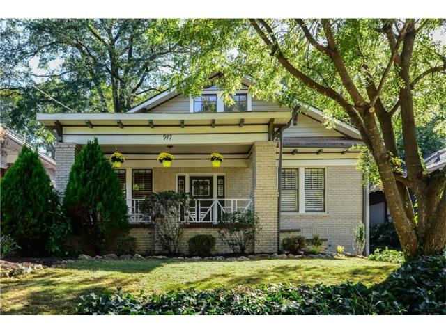 977 Blue Ridge Avenue NE, Atlanta, GA 30306 (MLS #5922983) :: RE/MAX Paramount Properties