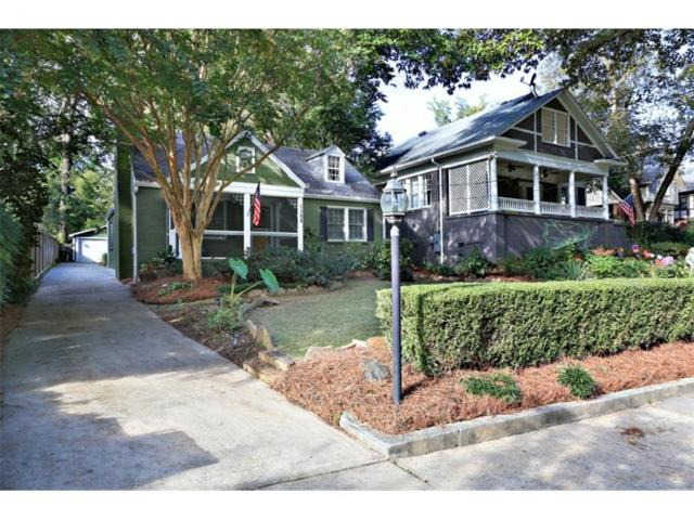 1388 N Morningside Drive NE, Atlanta, GA 30306 (MLS #5923351) :: The Hinsons - Mike Hinson & Harriet Hinson