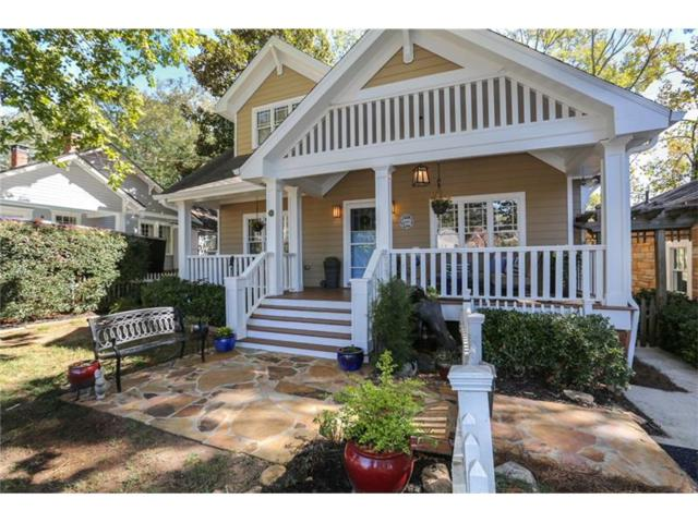 321 Mell Avenue NE, Atlanta, GA 30307 (MLS #5923558) :: The Hinsons - Mike Hinson & Harriet Hinson