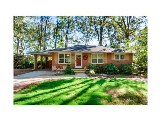 2631 Woodridge Drive, Decatur, GA 30033 (MLS #5923690) :: The Hinsons - Mike Hinson & Harriet Hinson