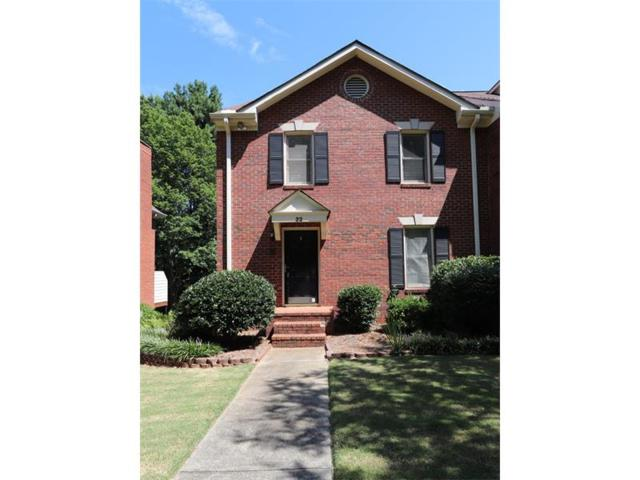 22 Huntington Place Drive, Sandy Springs, GA 30350 (MLS #5923990) :: RE/MAX Paramount Properties