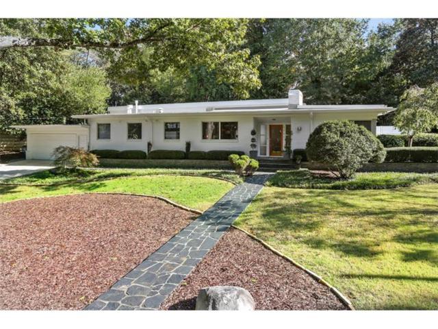 1711 Barnesdale Way NE, Atlanta, GA 30309 (MLS #5925762) :: North Atlanta Home Team