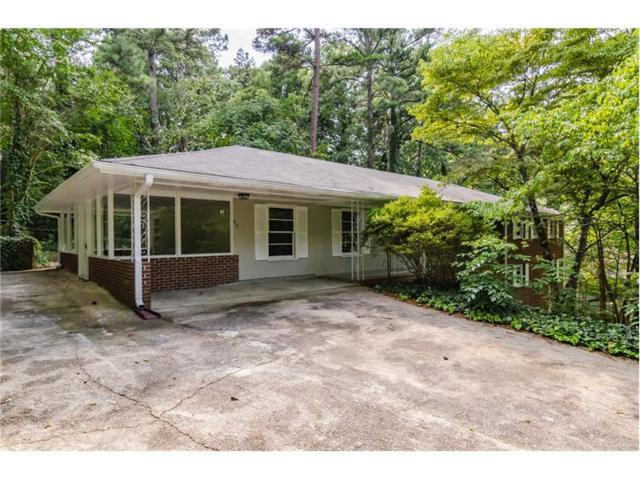 617 Montclair Drive SW, Smyrna, GA 30082 (MLS #5926361) :: North Atlanta Home Team