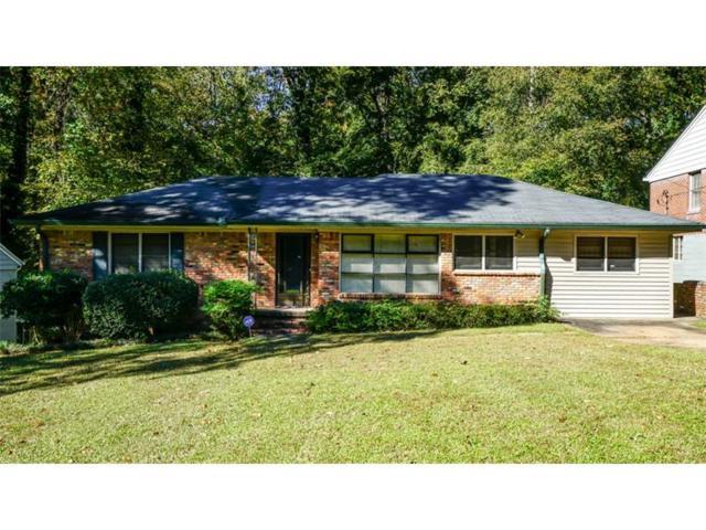 1000 Burton Drive NE, Atlanta, GA 30329 (MLS #5928160) :: North Atlanta Home Team
