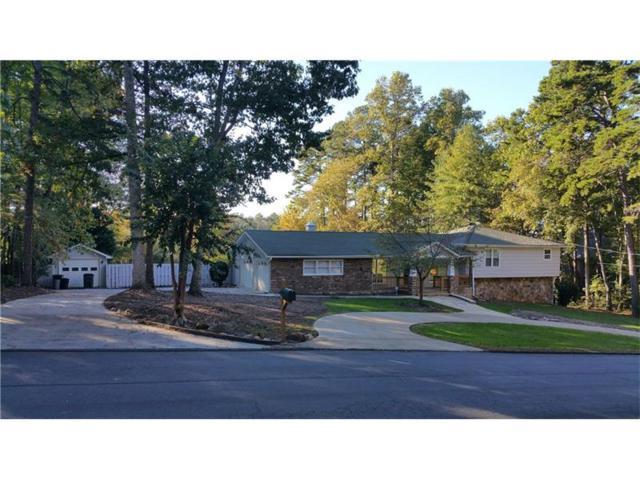1681 Beaumont Drive NW, Kennesaw, GA 30152 (MLS #5928192) :: North Atlanta Home Team