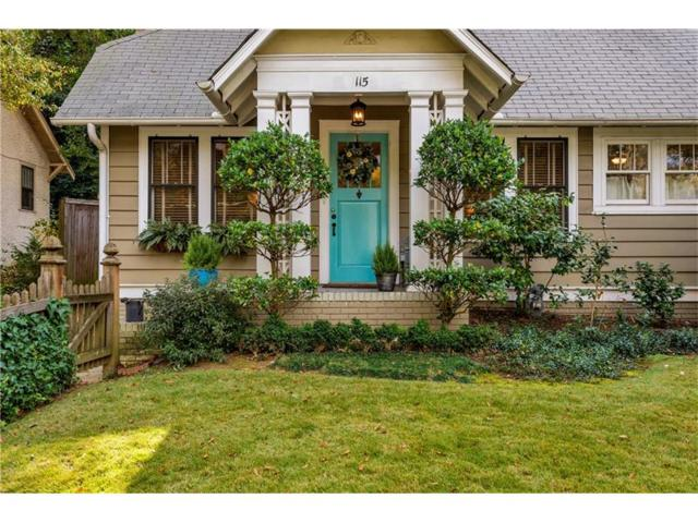 115 Lindbergh Drive NE, Atlanta, GA 30305 (MLS #5931656) :: North Atlanta Home Team