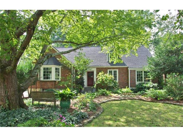 1229 Beech Valley Road NE, Atlanta, GA 30306 (MLS #5932615) :: North Atlanta Home Team