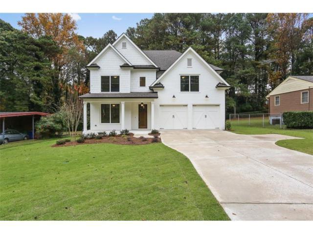 1890 Canmont Drive NE, Brookhaven, GA 30319 (MLS #5933004) :: North Atlanta Home Team