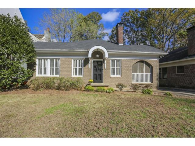 1397 Northview Avenue NE, Atlanta, GA 30306 (MLS #5933621) :: The Zac Team @ RE/MAX Metro Atlanta