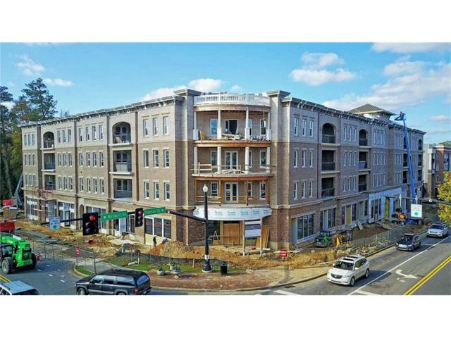 50 Canton Street #207, Alpharetta, GA 30009 (MLS #5933674) :: North Atlanta Home Team