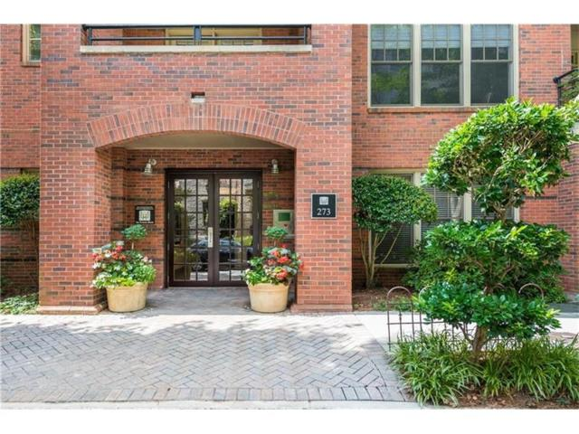 273 12th Street NE #420, Atlanta, GA 30309 (MLS #5934733) :: Charlie Ballard Real Estate