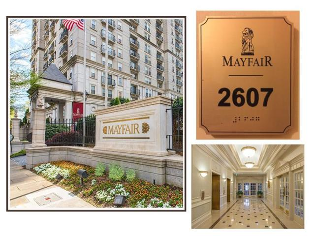 199 14th Street NE #2607, Atlanta, GA 30309 (MLS #5935055) :: Charlie Ballard Real Estate