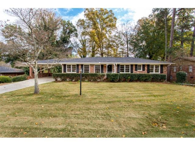 6705 Wright Road, Sandy Springs, GA 30328 (MLS #5935599) :: Buy Sell Live Atlanta