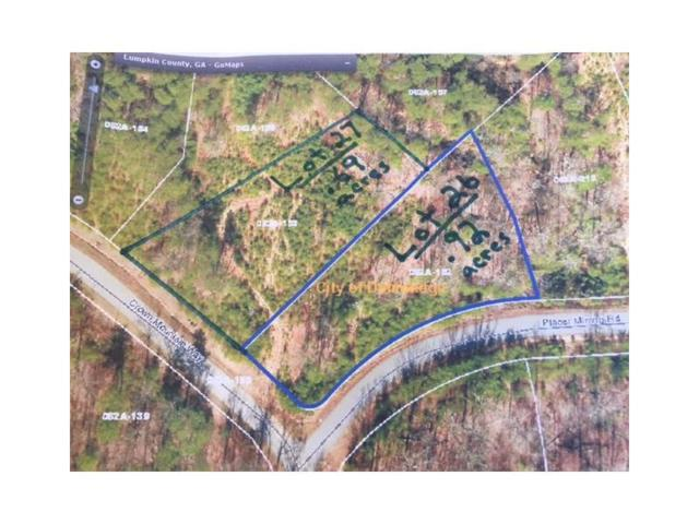 0 Placer Mining Road, Dahlonega, GA 30533 (MLS #5937404) :: Carr Real Estate Experts