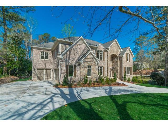 1861 Wood Acres Lane NE, Marietta, GA 30062 (MLS #5937604) :: North Atlanta Home Team