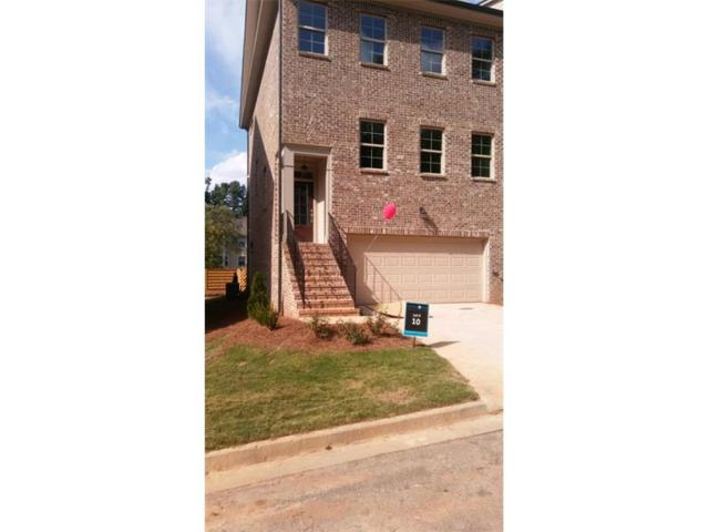 339 Benson Manor Circle #10, Smyrna, GA 30082 (MLS #5939631) :: North Atlanta Home Team